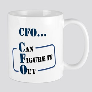 CFO...Can Figure It Out Mugs