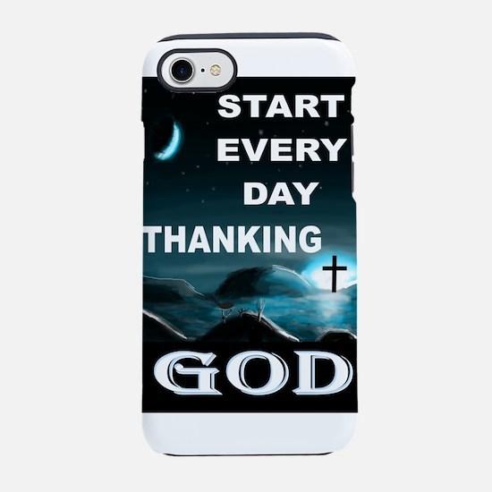 THANK YOU GOD iPhone 8/7 Tough Case