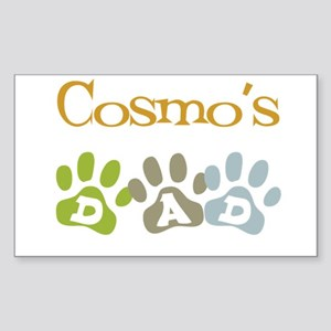 Cosmo's Dad Rectangle Sticker