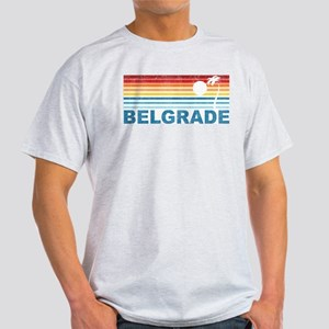 Retro Palm Tree Belgrade Light T-Shirt
