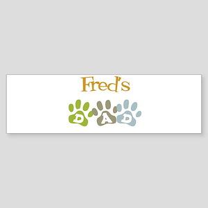 Fred's Dad Bumper Sticker