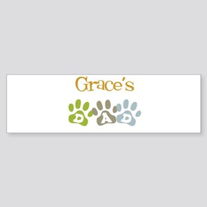 Grace's Dad Bumper Sticker