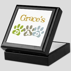 Grace's Dad Keepsake Box