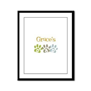 Grace's Dad Framed Panel Print