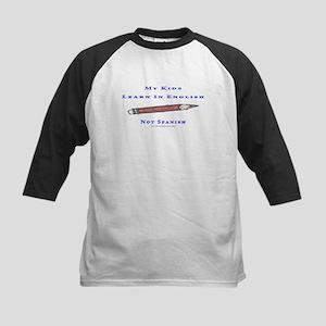 Teach In Englesh t shirts Kids Baseball Jersey