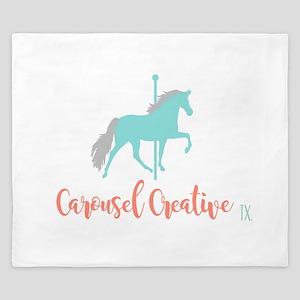 Carousel Creative King Duvet