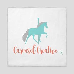 Carousel Creative Queen Duvet