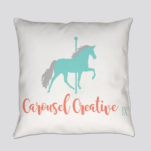 Carousel Creative Everyday Pillow