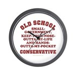 Old School Conservative Wall Clock
