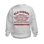 Old School Conservative Kids Sweatshirt