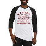 Old School Conservative Baseball Jersey