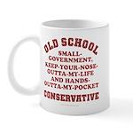 Old School Conservative Mug