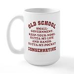Old School Conservative Large Mug