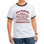 Old School Conservative Ringer T