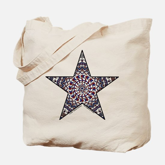 Star of Independence Tote Bag