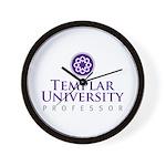 Templar University Wall Clock