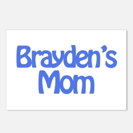 Brayden's Mom Postcards (Package of 8)