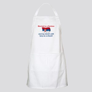 Married To A Serbian BBQ Apron