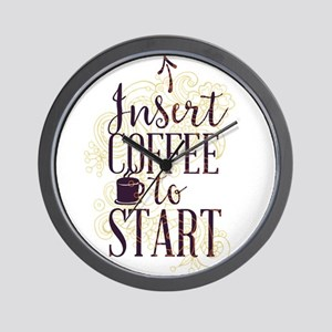 Funny Insert Coffee to Start Coffee Lovers Wake Up