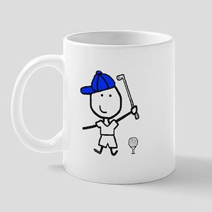 Boy & Golf Mug