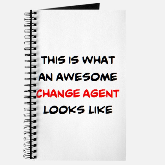 awesome change agent Journal