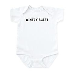 Wintry blast Infant Bodysuit