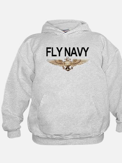 Fly Navy Wings Hoodie