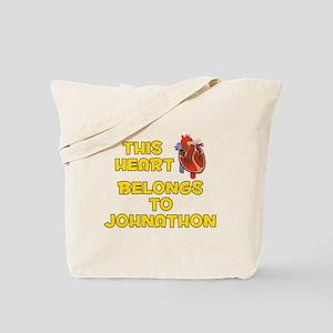 This Heart: Johnathon (A) Tote Bag