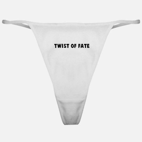 Twist of fate Classic Thong