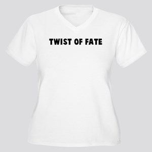 Twist of fate Women's Plus Size V-Neck T-Shirt