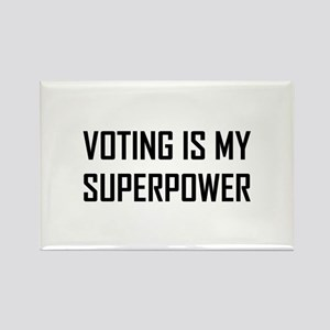 Voting Is My Superpower Magnets