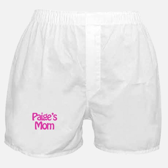 Paige's Mom Boxer Shorts
