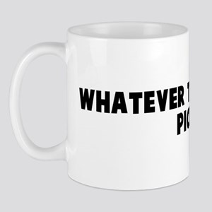 Whatever tickles your pickle Mug