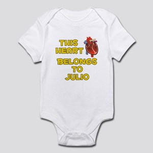This Heart: Julio (A) Infant Bodysuit