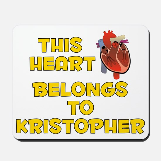 This Heart: Kristopher (A) Mousepad