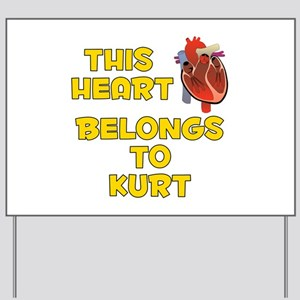 This Heart: Kurt (A) Yard Sign