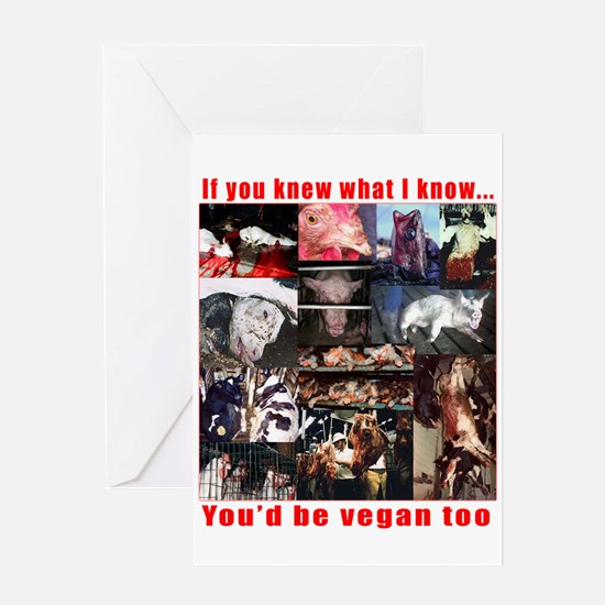 if you knew what I know Greeting Card