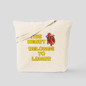 This Heart: Lamar (A) Tote Bag