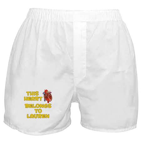 This Heart: Lauren (A) Boxer Shorts