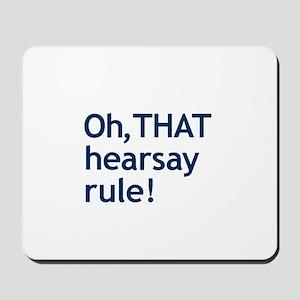 THAT Hearsay Mousepad