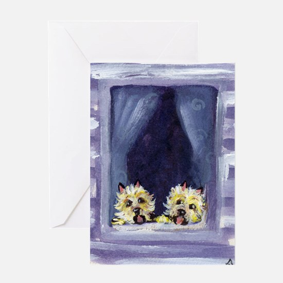 CAIRN window Greeting Cards