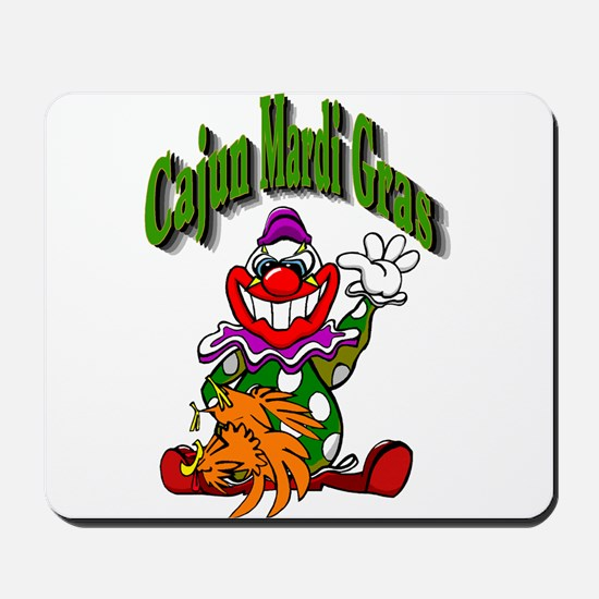 Cajun Mardi Gras Mousepad