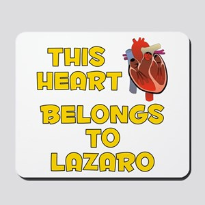 This Heart: Lazaro (A) Mousepad