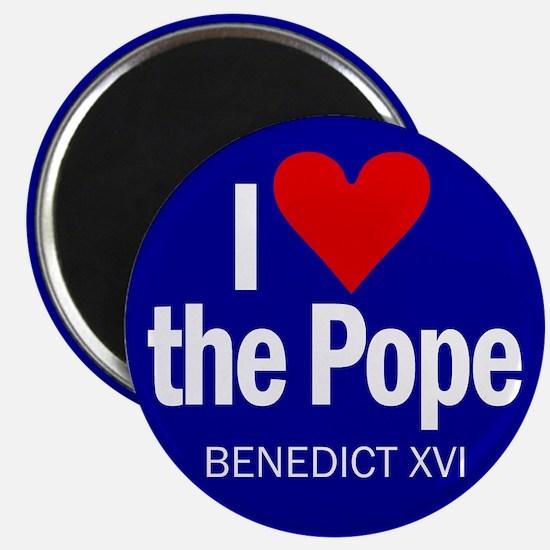 I Love Pope Benedict Magnet