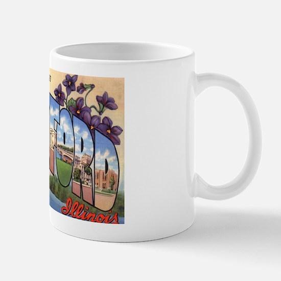 Rockford Illinois Greetings Mug