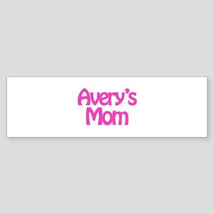 Avery's Mom Bumper Sticker