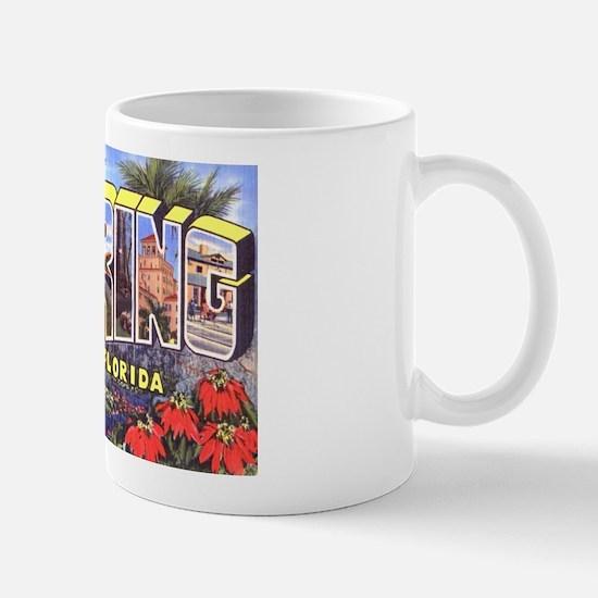Sebring Florida Greetings Mug