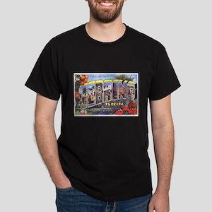 Sebring Florida Greetings (Front) Dark T-Shirt