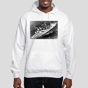 USS West Virginia Ship's Image Hooded Sweatshirt