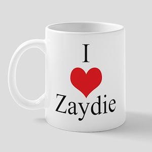I Love (Heart) Zaydie Mug